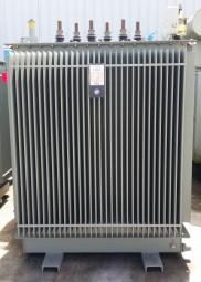 1250 kVA, 20/0,315/0,315 kV +-2 x 2,5 %, Hermetik, neuwertig